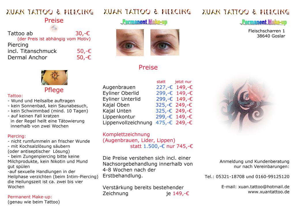 Intim piercing pflege